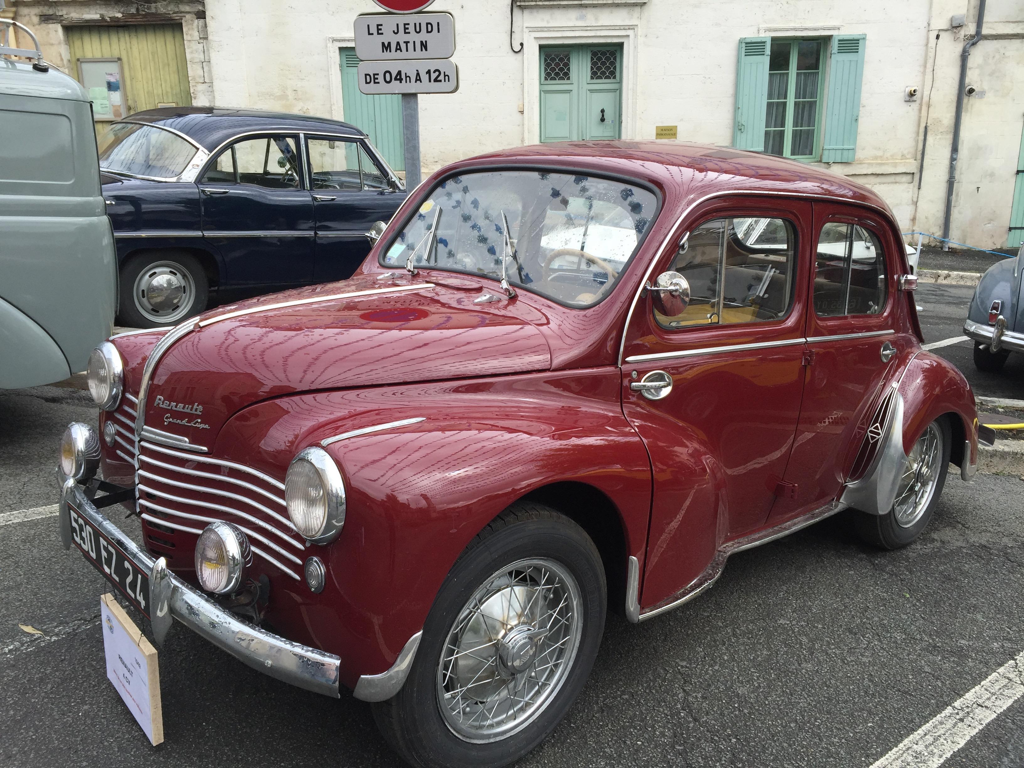 RENAULT 4CV - 1949
