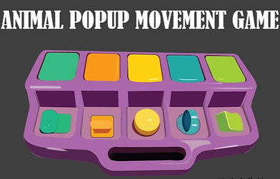 Animal Pop-up Movement Game