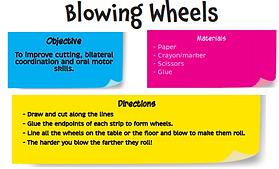 Blowing Wheels
