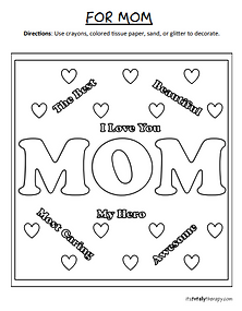 For Mom Coloring