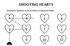Shooting hearts