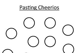 Pasting Cheerios
