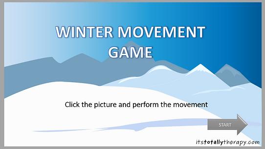 Winter Movement Game