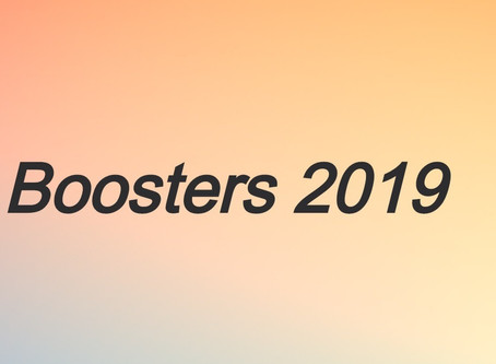Boosters 2019