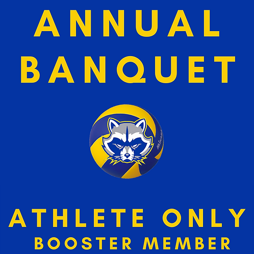 Annual Banquet | Athlete Only | Booster Member