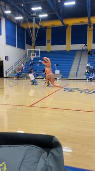 Dinosaur Eats Coach!!!