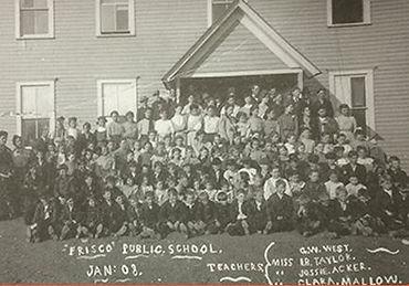 Frisco High School, Frisco, TX Original School House