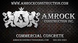2021-2022 Sponsor - Amrock Construction