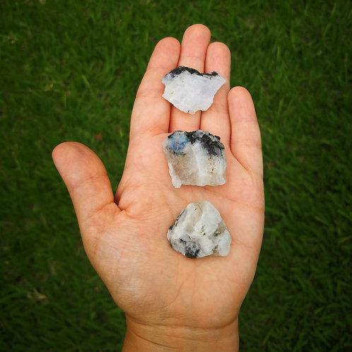 Pedra da Lua Indiana Bruta Pequena