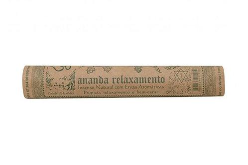 Incenso Lemongrass Relaxamento Ananda
