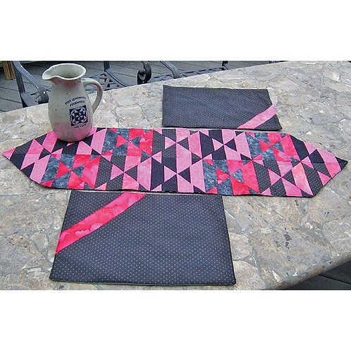 2 Cool 4 Dinner Table Runner and Placemats by Renela Peldunas-Harter