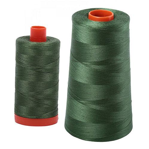 Aurifil Cotton Thread 50wt Very Dark Grass Green 2890