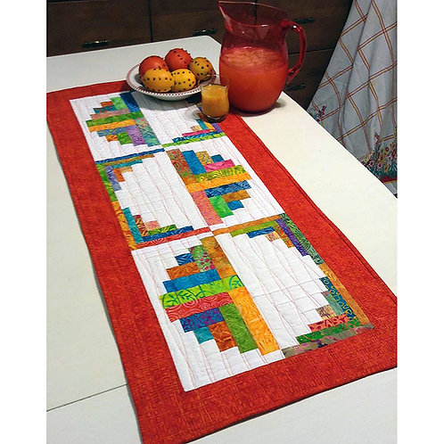 Citrus and Berry Table Runner by Jean Ann Wright