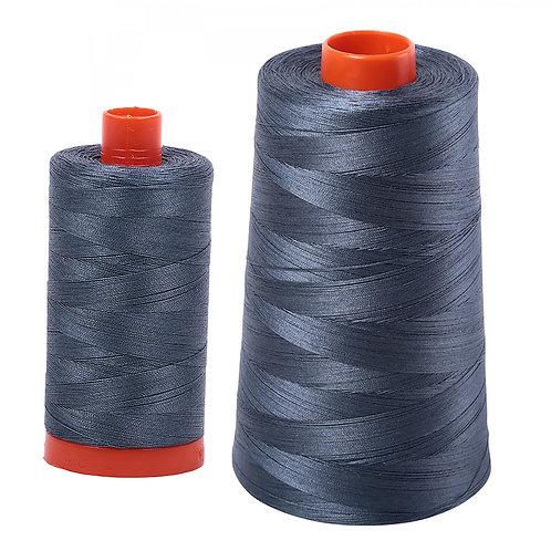 Aurifil Cotton Thread 50wt Medium Grey 1158