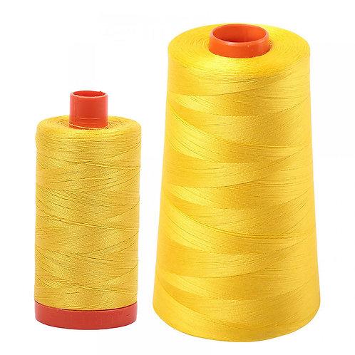 Aurifil Cotton Thread 50wt Canary 2120