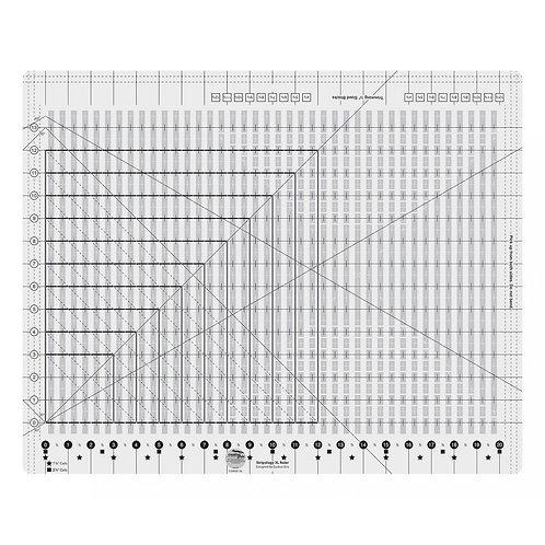 CGRGE1XL-Creative Grids Stripology Ruler XL