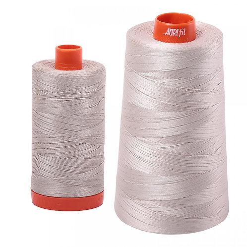 Aurifil Cotton Thread 50wt Pewter 6711