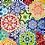 Thumbnail: Rosette Millefiori EPP Sets by Katja Marek