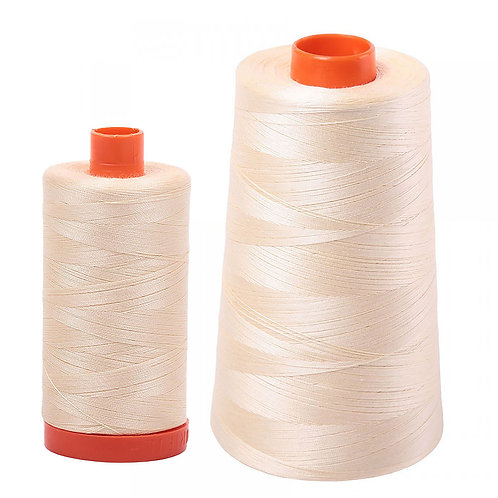 Aurifil Cotton Thread 50wt Butter 2123