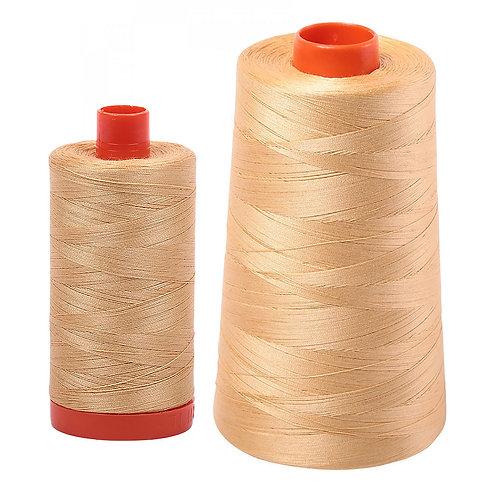 Aurifil Cotton Thread 50wt Ochre Yellow 5001