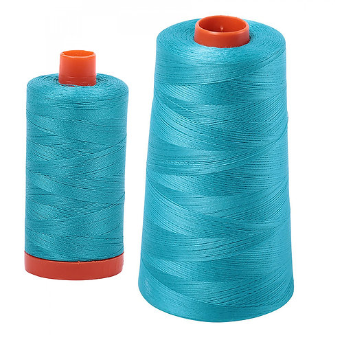 Aurifil Cotton Thread 50wt Turquoise 2810