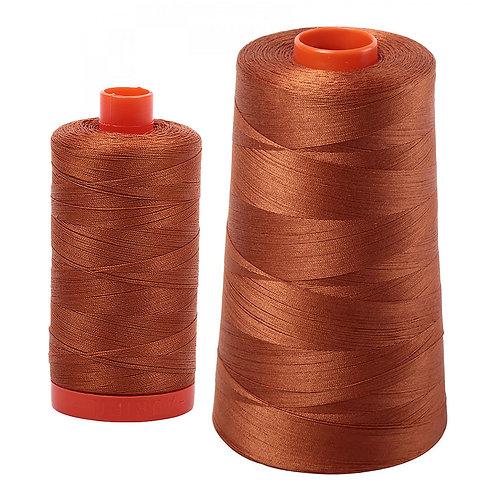 Aurifil Cotton Thread 50wt Cinnamon 2155