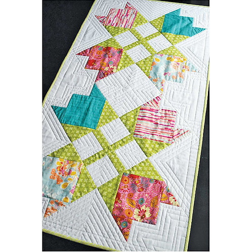 Tulip Compass Table Runner by Parcel Cloth