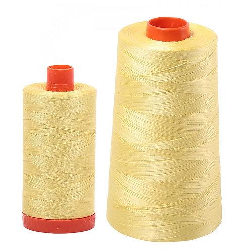 Aurifil Cotton Thread 50wt Lemon 2115