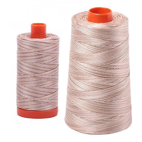 Aurifil Cotton Thread 50wt Variegated Biscotti 4666