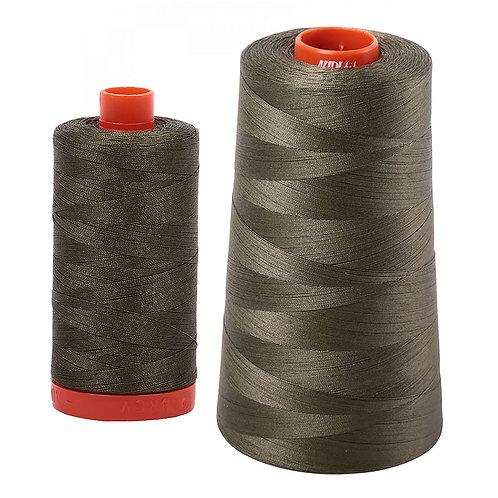 Aurifil Cotton Thread 50wt Army Green 2905