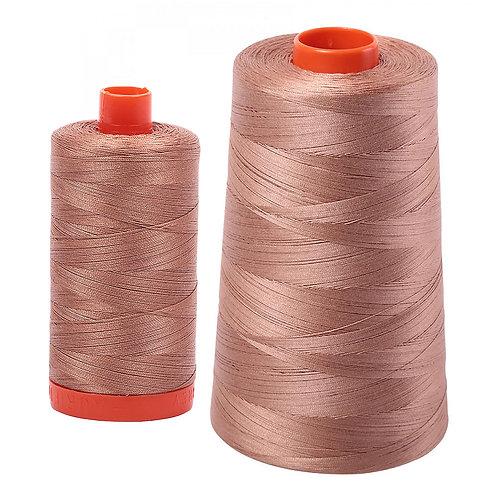 Aurifil Cotton Thread 50wt Cafe au Lait 2340