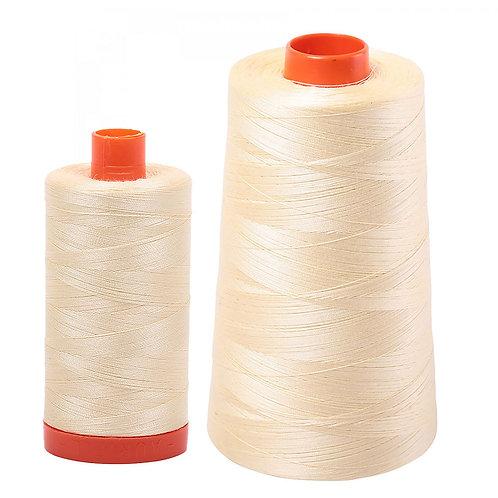 Aurifil Cotton Thread 50wt Light Lemon 2110