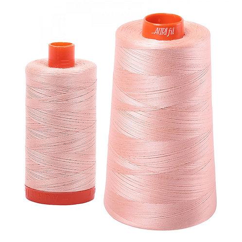 Aurifil Cotton Thread 50wt Fleshy Pink  2420