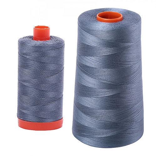 Aurifil Cotton Thread 50wt Dark Grey 1246