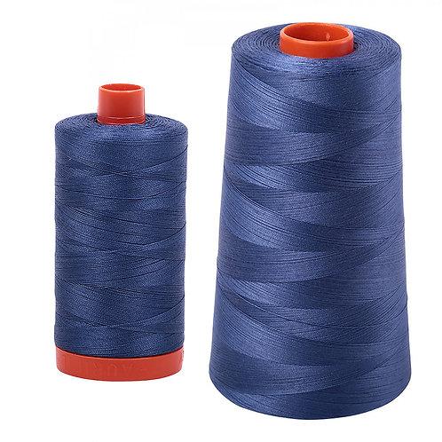 Aurifil Cotton Thread 50wt Steel Blue 2775