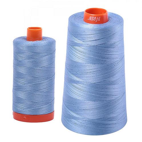 Aurifil Cotton Thread 50wt Light Delft Blue 2720