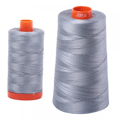 Aurifil Cotton Thread 50wt Light Blue Grey 2610
