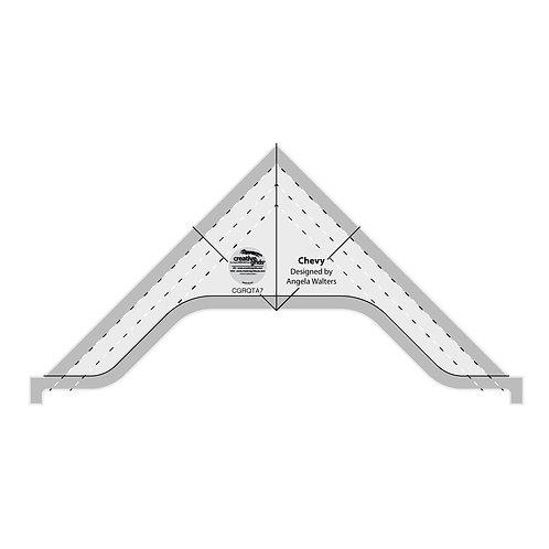 CGRQTA7-Creative Grids Chevy Machine Quilting Tool