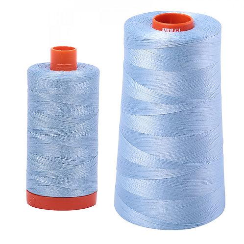 Aurifil Cotton Thread 50wt Robins Egg 2715