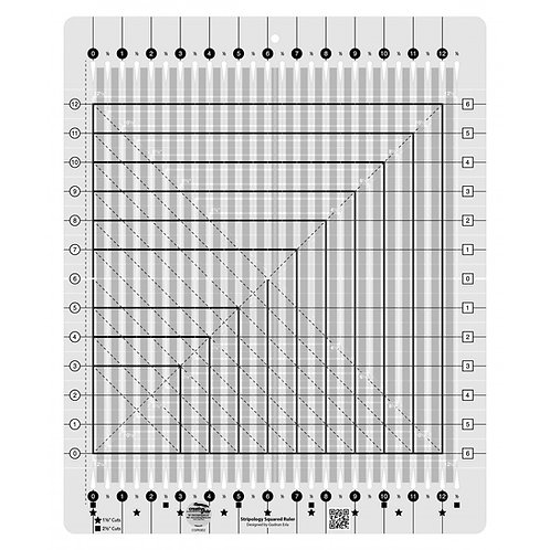 CGRGE2-Creative Grids Stripology Squared Ruler