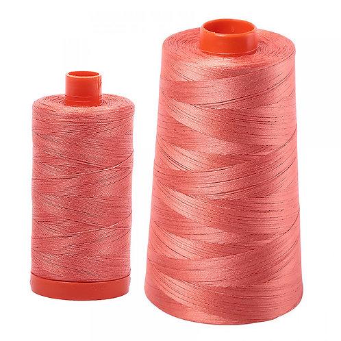 Aurifil Cotton Thread 50wt Salmon 2225