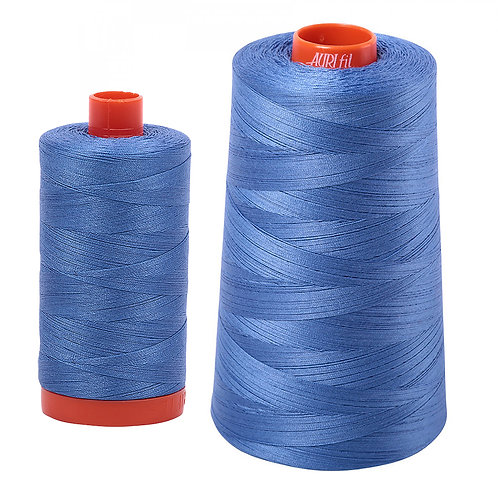 Aurifil Cotton Thread 50wt Light Blue Violet 1128