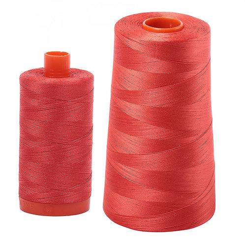 Aurifil Cotton Thread 50wt Light Red Orange 2277