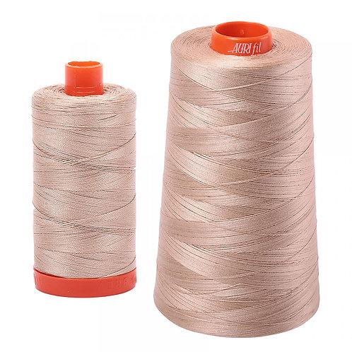 Aurifil Cotton Thread 50wt Beige 2314