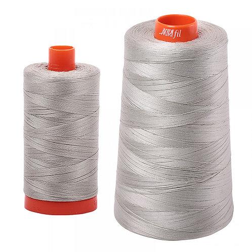 Aurifil Cotton Thread 50wt Light Grey 5021