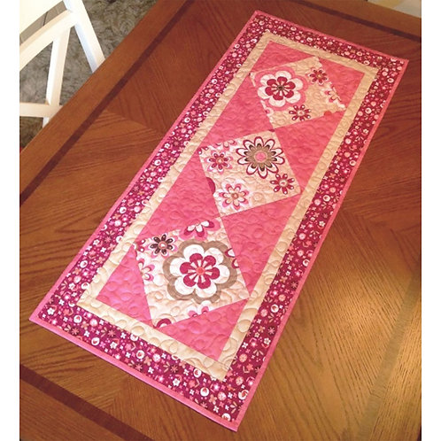 Sassy Squares Table Runner by Cathey Laird