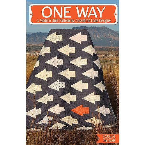 One Way Quilt by Sassafras Lane Designs