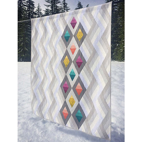 Woven Jewelbox Quilt by Krista Moser