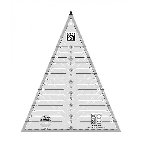 CGRKA6-Creative Grids Spider Web Ruler