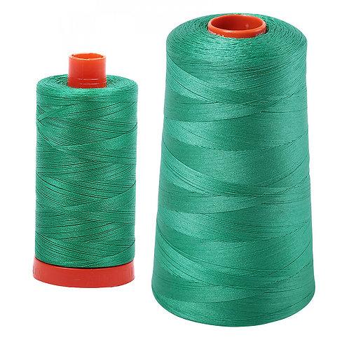 Aurifil Cotton Thread 50wt Emerald 2865